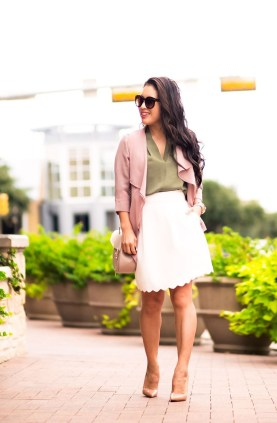 Incredible Skirt And Blouse This Fall Ideas18