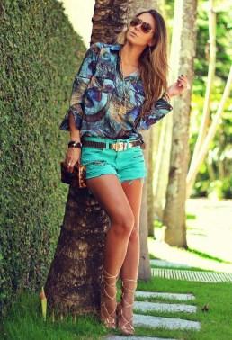 Perfect Wearing Summer Shorts Ideas35