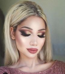 Popular Shimmer Summer Makeup Ideas30