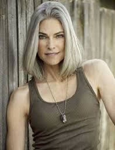 Pretty Grey Hairstyle Ideas For Women43