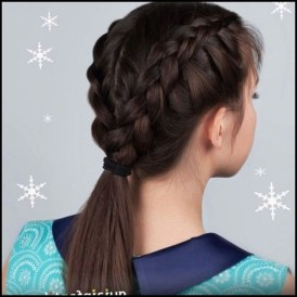 Awesome Hairstyles Christmas Party Ideas18
