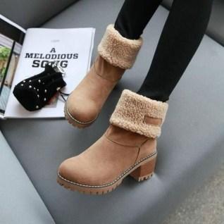 Charming Christmas Heels Ideas For Cute Women35