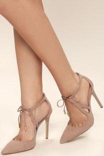 Charming Christmas Heels Ideas For Cute Women41