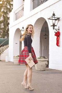 Charming Christmas Heels Ideas For Cute Women45