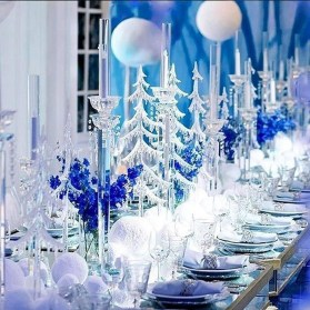 Classy Winter Wonderland Wedding Centerpieces Ideas22