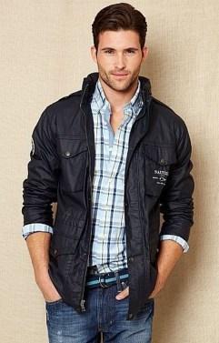 Cozy Plaid Shirt Outfit Christmas Ideas For Handsome Mens33