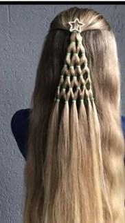 Cute Christmas Braided Hairstyles Ideas11