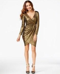 Cute Diy Wrap Mini Dress Ideas For Christmas Party22