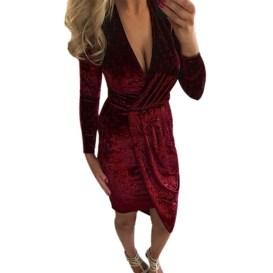 Cute Diy Wrap Mini Dress Ideas For Christmas Party30