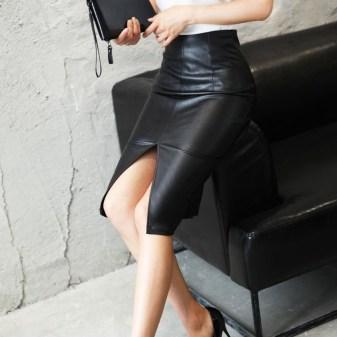 Elegant Midi Skirt Winter Ideas34