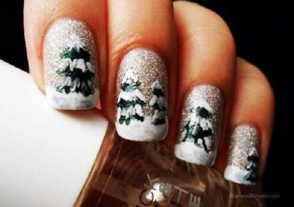 Outstanding Christmas Nail Art New 2017 Ideas03