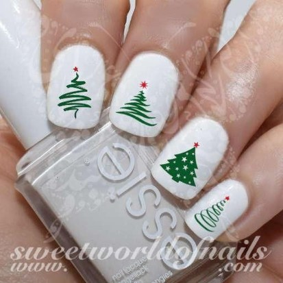 Outstanding Christmas Nail Art New 2017 Ideas11