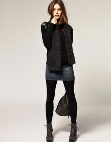 Affordable Winter Skirts Ideas With Tights01