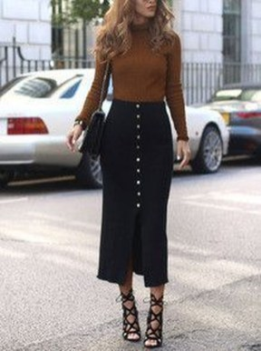 Affordable Winter Skirts Ideas With Tights25