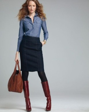 Affordable Winter Skirts Ideas With Tights26