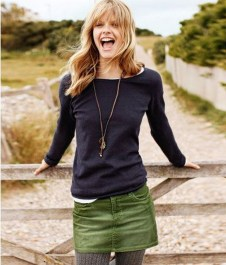 Affordable Winter Skirts Ideas With Tights28