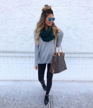 Best Winter Outfits Ideas With Leggings18