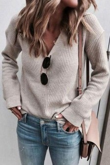 Classy Winter Outfits Ideas For School36