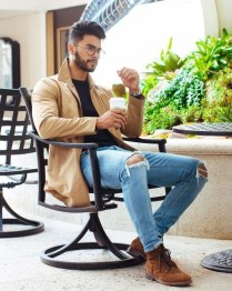Elegant Men'S Outfit Ideas For Valentine'S Day30