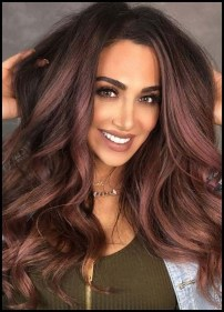 Fashionable Hair Color Ideas For Winter 201911