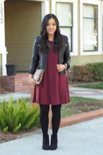 Flawless Winter Dress Outfits Ideas01