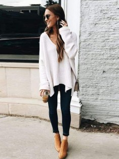 Simple Winter Outfits Ideas For School22