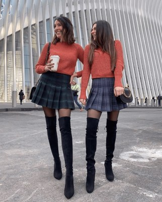 Stunning Winter Outfits Ideas With Skirts24
