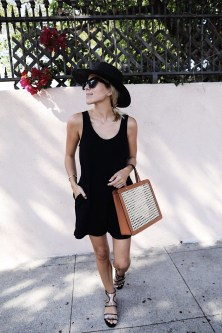 Adorable Black Romper Outfit Ideas01
