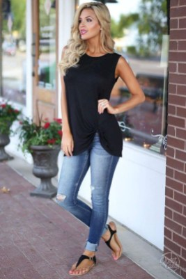 Latest Jeans Outfits Ideas For Spring07