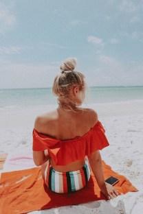 Stylish Fashion Beach Outfit Ideas28