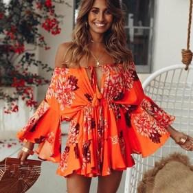 Stylish Fashion Beach Outfit Ideas39
