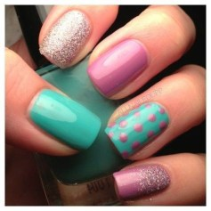 Modern Easter Nail Art Design Ideas04