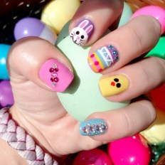 Modern Easter Nail Art Design Ideas17