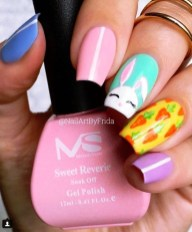 Modern Easter Nail Art Design Ideas20