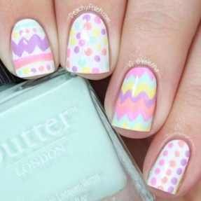 Modern Easter Nail Art Design Ideas42
