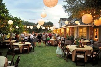 Pretty Backyard Reception Decoration Ideas33