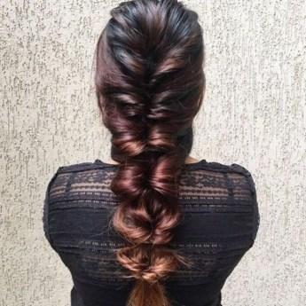 Stylish Mermaid Braid Hairstyles Ideas For Girls09