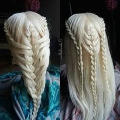 Stylish Mermaid Braid Hairstyles Ideas For Girls13