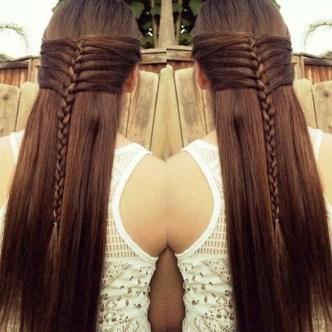 Stylish Mermaid Braid Hairstyles Ideas For Girls17