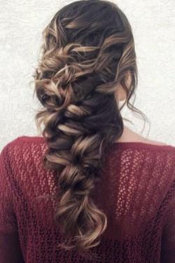 Stylish Mermaid Braid Hairstyles Ideas For Girls24