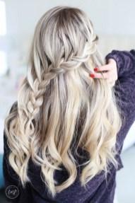 Stylish Mermaid Braid Hairstyles Ideas For Girls30