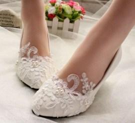 Captivating Flat Wedding Shoes Ideas01