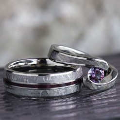 Creative Wedding Ring Sets Ideas For Bride And Groom19