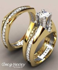 Creative Wedding Ring Sets Ideas For Bride And Groom39