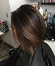 Elegant Dark Brown Hair Color Ideas With Highlights04