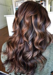 Elegant Dark Brown Hair Color Ideas With Highlights10
