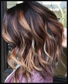 Elegant Dark Brown Hair Color Ideas With Highlights31