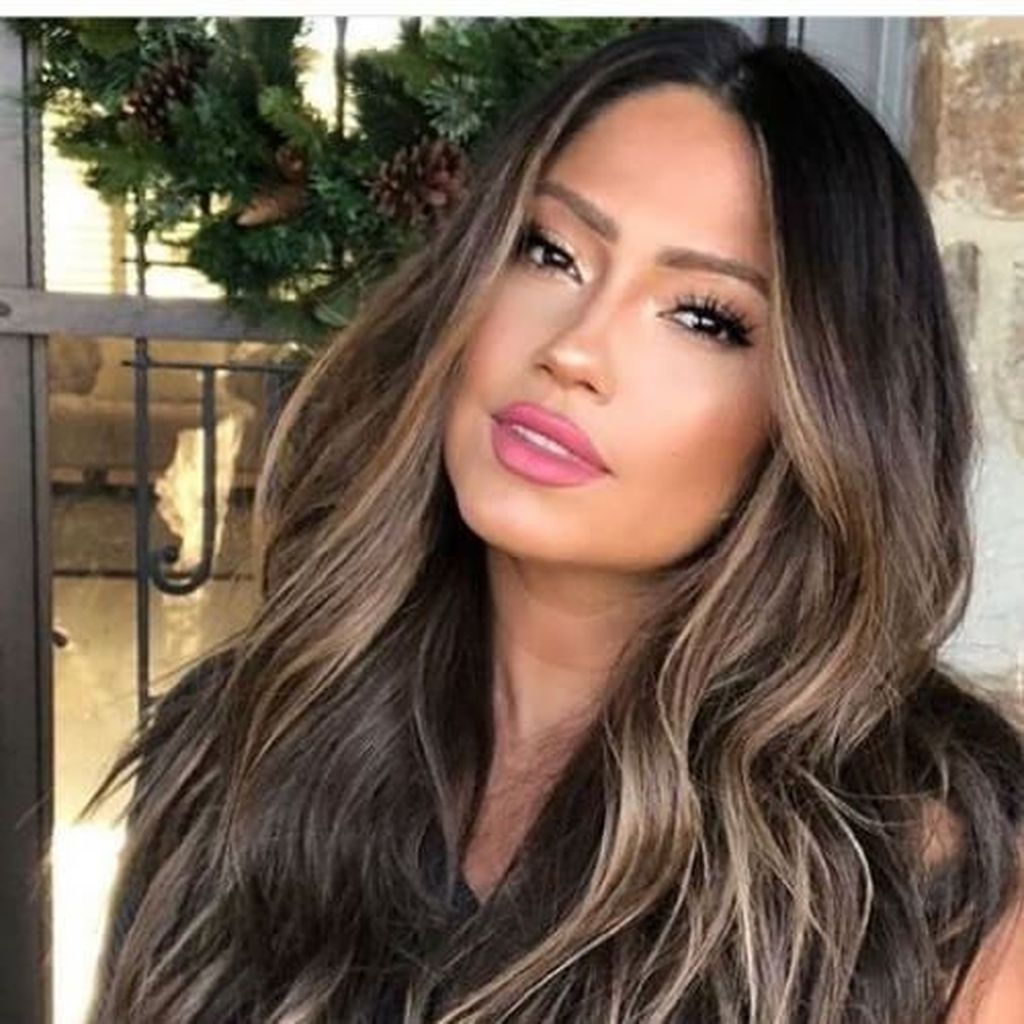Elegant Dark Brown Hair Color Ideas With Highlights33