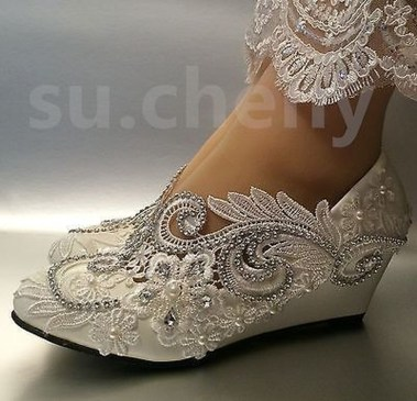 Lovely Wedding Shoe Ideas To Get Inspired25