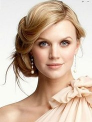 Unique Wedding Hairstyles Ideas For Round Faces03